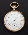 Timepieces:Pocket (post 1900), Waltham 17 Jewel Open Face Pocket Watch. ...