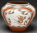 American Indian Art:Pottery, A ZIA POLYCHROME JAR . Ruby Panana...