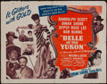 "Movie Posters:Musical, Belle of the Yukon & Other Lot (Independent Releasing Corporation, R-1940s). Half Sheet (22"" X 28"") & Insert (14"" X 36""). Mu... (Total: 2 Items)"