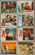 """Movie Posters:Western, Western Lobby Card Lot #2 (Various, 1950s-1970s). Title Lobby Cards(3) & Lobby Cards (18) (11"""" X 14""""). Western.. ... (Total: 21Items)"""