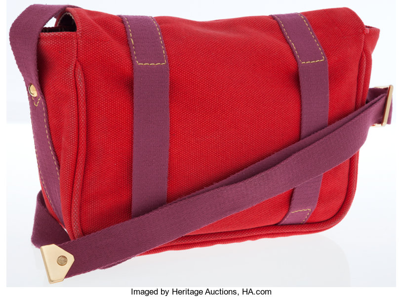 1e7ad29be Louis Vuitton Red Canvas Antigua Besace PM Shoulder Bag. ... Luxury | Lot  #75045 | Heritage Auctions