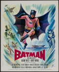 "Movie Posters:Action, Batman (20th Century Fox, 1966). French Petite (18"" X 22"").Action.. ..."