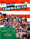 Original Comic Art:Covers, Joe Simon Boy Commandos #3 Cover Re-Creation Original Art(undated)....