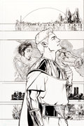 Original Comic Art:Covers, Phil Jimenez Before Watchmen: Ozymandias #2B Cover OriginalArt (DC, 2012)....