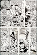 Original Comic Art:Panel Pages, George Perez and John Tartaglione The Avengers #150 Page 10Original Art (Marvel, 1976)....