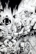 Original Comic Art:Covers, Dale Keown The Incredible Hulk #15 Variant Doctor Doom CoverOriginal Art (Marvel, 2012)....
