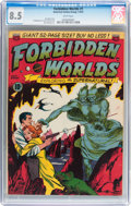 Golden Age (1938-1955):Science Fiction, Forbidden Worlds #1 (ACG, 1951) CGC VF+ 8.5 White pages....