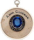 Baseball Collectibles:Others, 1963 Los Angeles Dodgers World Championship Pendant....
