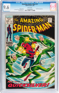 Silver Age (1956-1969):Superhero, The Amazing Spider-Man #71 (Marvel, 1969) CGC NM+ 9.6 White pages....