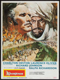 "Movie Posters:Adventure, Khartoum (United Artists, 1966). French Affiche (23.5"" X 31.5"").Adventure.. ..."