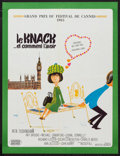 """Movie Posters:Comedy, The Knack ...and How to Get it (United Artists, 1965). French Affiche (22.5"""" X 29.5""""). Comedy.. ..."""