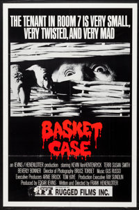 "Basket Case (Analysis Film, 1982). One Sheet (27"" X 41""). Horror"