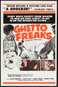 "Movie Posters:Exploitation, Ghetto Freaks (World International, 1970). One Sheet (27"" X 41"").also known as Love Commune and Sign of Aquarius. E..."