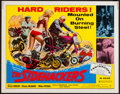 """Movie Posters:Action, The Sidehackers (Crown International, 1969). Half Sheet (22"""" X 28""""). Action.. ..."""
