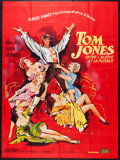 "Movie Posters:Academy Award Winners, Tom Jones (United Artists, 1963). French Grande (45"" X 61""). Academy Award Winners.. ..."