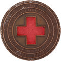 Golf Collectibles:Miscellaneous, 1918 American Red Cross Prize Medal Presented to Alexa Stirling....