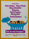 """Movie Posters:Comedy, What's New, Pussycat? (United Artists, 1965). French Affiche (22.5""""X 30). Comedy.. ..."""