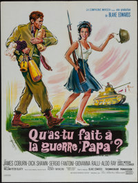"""What Did You Do in the War, Daddy? (United Artists, 1966). French Affiche (23.5"""" X 31.5""""). Comedy"""