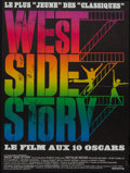 "Movie Posters:Academy Award Winners, West Side Story (United Artists, R-1970s). French Affiche (22.5"" X30""). Academy Award Winners.. ..."