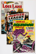 Silver Age (1956-1969):Miscellaneous, DC Silver Age Group (DC, 1960s) Condition: Average GD-.... (Total:7 Comic Books)