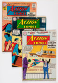 Silver Age (1956-1969):Miscellaneous, DC Silver Age Batman/Superman Related Group (DC, 1960s) Condition: Average GD-.... (Total: 12 Comic Books)