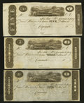 Obsoletes By State:Ohio, Cincinnati, OH- Unknown Issuer $1, $3, $5 18__ Remainders Wolka0653-01, -03, -04. ... (Total: 3 notes)