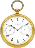 Timepieces:Pocket (pre 1900) , Charles Frodsham 84 Strand Fusee With Up/Down Indicator Later Case,circa 1855. ...
