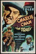 """Movie Posters:Mystery, The Trap (Monogram, 1946). One Sheet (27"""" X 41""""). Mystery.. ..."""
