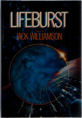 Books:Science Fiction & Fantasy, Jack Williamson. INSCRIBED. Lifeburst. Del Rey, 1984. First edition, first printing. Signed and inscribed by the a...
