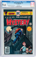 Bronze Age (1970-1979):Horror, House of Mystery #242 (DC, 1976) CGC NM+ 9.6 White pages....