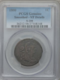 Large Cents, 1800 1C S-208, B-21, R.3 -- Smoothed -- PCGS Genuine. VF Details.PCGS Population (0/3)....
