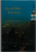 Books:Literature 1900-up, Paul Auster. SIGNED. City of Glass. The New York Trilogy.Vol. 1. Sun & Moon Press, 1985. First edition, first p...