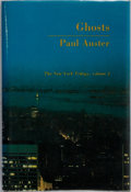 Books:Literature 1900-up, Paul Auster. SIGNED. Ghosts. The New York Trilogy. Vol. 2.Sun & Moon Press, 1986. First edition, first printing...