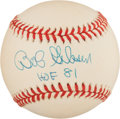 Baseball Collectibles:Balls, Bob Gibson Single Signed Baseball....
