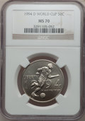 Modern Issues: , 1994-D 50C World Cup Half Dollar MS70 NGC. NGC Census: (67). PCGSPopulation (27). Numismedia Wsl. Price for problem free ...