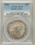 Bust Half Dollars: , 1832 50C Small Letters AU53 PCGS. PCGS Population (197/968). NGCCensus: (158/1217). Mintage: 4,797,000. Numismedia Wsl. Pr...
