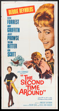 """Movie Posters:Comedy, The Second Time Around & Others Lot (20th Century Fox, 1961). Three Sheets (4) (41"""" X 81""""). Comedy.. ... (Total: 4 Items)"""