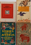 Books:Children's Books, [Children's Literature]. Group of Four Books. Various editions andpublishers, 1941-1964. Publisher's binding and djs. Gener...(Total: 4 Items)