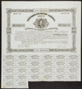 Confederate Notes:Group Lots, Ball 114 Cr. 70 Bond $500 1863 Very Fine.. ...