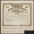 Confederate Notes:Group Lots, Ball 261 Cr. 129A $500 Bond 1863 Very Fine.. ...