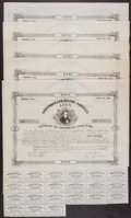 Confederate Notes:Group Lots, Ball 87 Cr. 20 $50 Bond 1861 Five Examples Fine or Better.. ...(Total: 5 items)