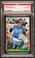 Baseball Cards:Singles (1970-Now), 1985 Leaf George Brett #176 PSA Gem Mint 10....