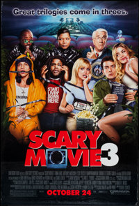 "Scary Movie 3 and Others Lot (Miramax, 2003). One Sheets (3) (27"" X 40"") & British Quads (2) (30"" X 4..."