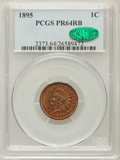 Proof Indian Cents: , 1895 1C PR64 Red and Brown PCGS. CAC. PCGS Population (108/58). NGC Census: (58/77). Mintage: 2,062. Numismedia Wsl. Price ...