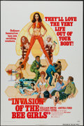 "Movie Posters:Sexploitation, Invasion of the Bee Girls (Centaur, 1973). One Sheet (27"" X 41"").Sexploitation.. ..."