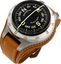 Timepieces:Other , Panerai Limited Edition Black Seal Compass PAM00191 OP 6610 No.039/300, circa 2004. ...