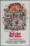 "Movie Posters:Rock and Roll, Rock 'n' Roll High School (New World, 1979). One Sheet (27"" X 41""). Rock and Roll.. ..."