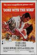 "Movie Posters:Academy Award Winners, Gone with the Wind (MGM, R-1980). One Sheet (27"" X 41""). AcademyAward Winners.. ..."