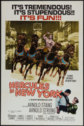 "Movie Posters:Action, Hercules in New York (RAF Industries, 1970). One Sheet (27"" X 41"").Action.. ..."