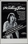 "Movie Posters:Rock and Roll, Ladies and Gentlemen: The Rolling Stones (Dragon Aire, 1973). OneSheet (24.5"" X 38"") Flat Folded, QuadraSound Style. Rock a..."